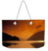 Glenveagh Castle And Lough Veagh Weekender Tote Bag