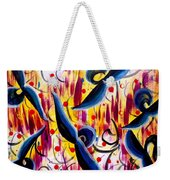 Glidding To Victorious Ends Weekender Tote Bag