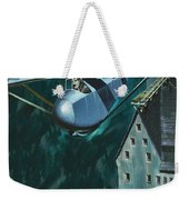 Glider Escape From Colditz Castle Weekender Tote Bag