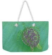 Gliding Green - Filter Fun Weekender Tote Bag