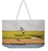 Gliding Over A Shell Island Weekender Tote Bag