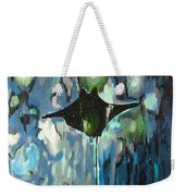 Gliding Stingray Weekender Tote Bag