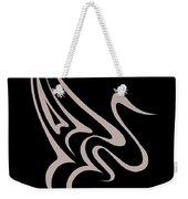 Gliding Swan Weekender Tote Bag