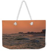 Gliding The Beach Weekender Tote Bag