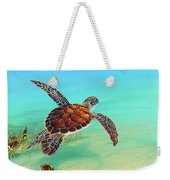 Gliding Through The Sea Weekender Tote Bag