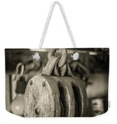 Glimpse Into The Past Weekender Tote Bag