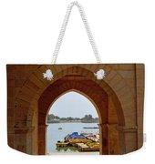 Glimpse Of Gadisar Lake Weekender Tote Bag