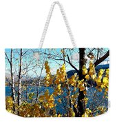 Glimpse Of Kalamalka Lake Weekender Tote Bag