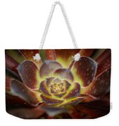 Glistening Glowing Garden Jewel Weekender Tote Bag