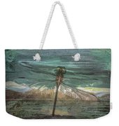 Glistening On Wood Weekender Tote Bag