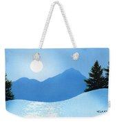 Glistening Snow Weekender Tote Bag