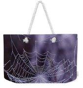 Glistening Web Weekender Tote Bag
