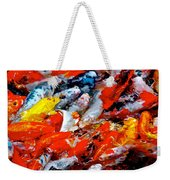 Glittering Of Koi Weekender Tote Bag