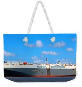 Global Carrier Weekender Tote Bag