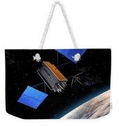 Global Positioning System Satellite In Orbit Weekender Tote Bag
