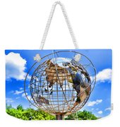 Globe At Columbus Circle Weekender Tote Bag