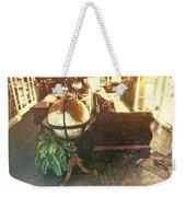 Globe Weekender Tote Bag