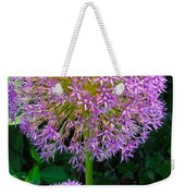 Globe Thistle Flowers Weekender Tote Bag