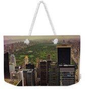 Gloomy Central Park Weekender Tote Bag