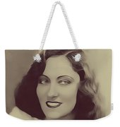Gloria Swanson, Vintage Actress Weekender Tote Bag