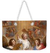 Glorification Of The Name Of Jesus Weekender Tote Bag