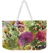 Glorious Flowers Weekender Tote Bag