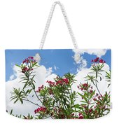 Glorious Fragrant Oleanders Reaching For The Sky Weekender Tote Bag