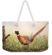 Glorious Pheasant-1 Weekender Tote Bag
