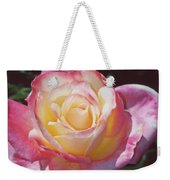 Glorious Pink Rose Weekender Tote Bag