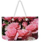 Glorious Pink Roses Weekender Tote Bag