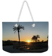 Glorious Sevillian Sunset With Palms Weekender Tote Bag