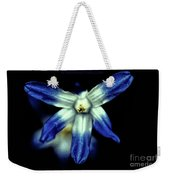 Glory Of The Snow Blue Giant Weekender Tote Bag