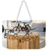 Glossy Coffee Table Weekender Tote Bag