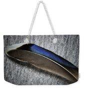 Glossy Iridescence  Weekender Tote Bag