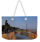Gloucester Waterfront Gloucester Harbor Weekender Tote Bag