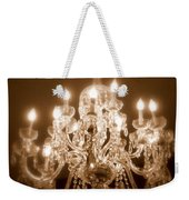 Glow From The Past Weekender Tote Bag