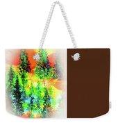 Winter's Glow Weekender Tote Bag