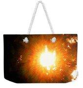 Glow Of Sun Through Pines Weekender Tote Bag