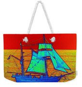 Glow Ship 3 Photograph Weekender Tote Bag