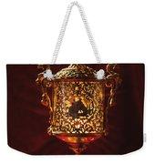 Glowing Antique Lantern Weekender Tote Bag
