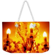 Glowing Chandelier Weekender Tote Bag