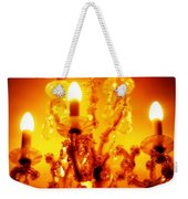 Glowing Chandelier--companion Piece Weekender Tote Bag