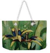 Glowing Flora Weekender Tote Bag