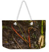 Glowing Foxtails Weekender Tote Bag