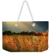 Glowing Grass Weekender Tote Bag