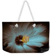 Glowing Hibiscus Weekender Tote Bag