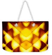 Glowing Honeycomb Weekender Tote Bag