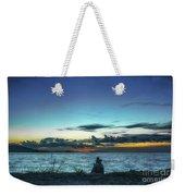 Glowing Horizon Weekender Tote Bag