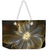 Glowing In Silver And Gold Weekender Tote Bag