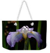 Glowing Iris Weekender Tote Bag